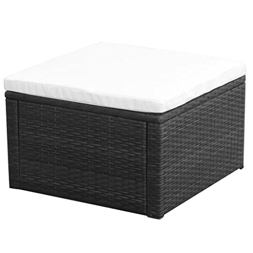 LicongUS-Footstool-Ottoman-Poly-Rattan-21x21x118-Black-Footstool-Outdoor-Footstool-Material-Metal-frame-PE-rattan-0