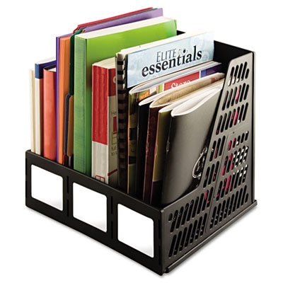 Literature-File-Three-Slots-Black-0
