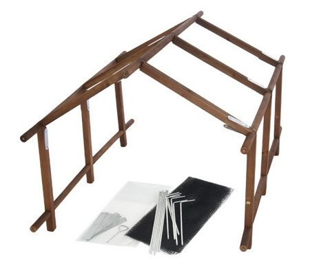 Lori-Greiner-Compact-Convertible-Wooden-Garden-Greenhouse-Lattice-Kit-2-Pack-36-L-x-25-0-0