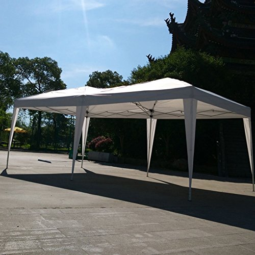 Lovinland-10-x-20-Pop-Up-Canopy-Party-Wedding-Tent-Outdoor-Folding-Gazebo-White-with-Carry-Bag-0-2