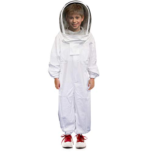 Luwint-Kids-Full-Body-Ventilated-Beekeeping-Suits-Camo-Cotton-Beekeeper-Suit-Self-Supporting-Fencing-Veil-Hood-0