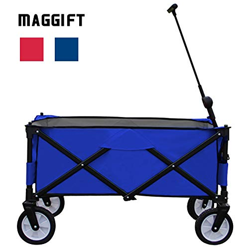 MAGGIFT-Collapsible-Folding-Outdoor-Utility-Wagon-Cart-0
