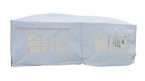MCombo-10×20-ft-EZ-POP-UP-Wedding-Canopy-Party-Tent-Folding-Gazebo-Tent-Canopy-6-Side-Walls-wFree-Carry-Case-6051-1020W-0-2