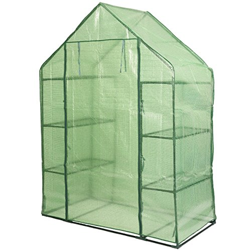 MD-Group-Portable-Greenhouse-8-Shelves-Garden-Nursery-Plants-Growth-House-Mini-Outdoor-PE-Mesh-0-0