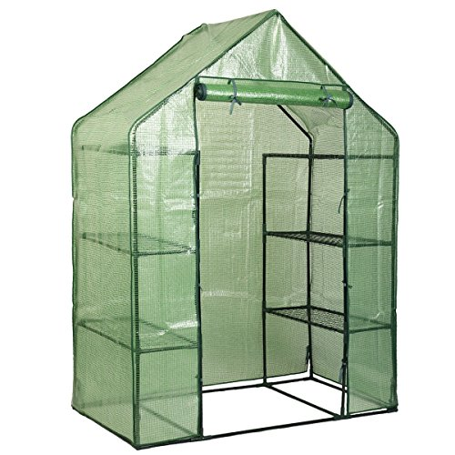 MD-Group-Portable-Greenhouse-8-Shelves-Garden-Nursery-Plants-Growth-House-Mini-Outdoor-PE-Mesh-0-1
