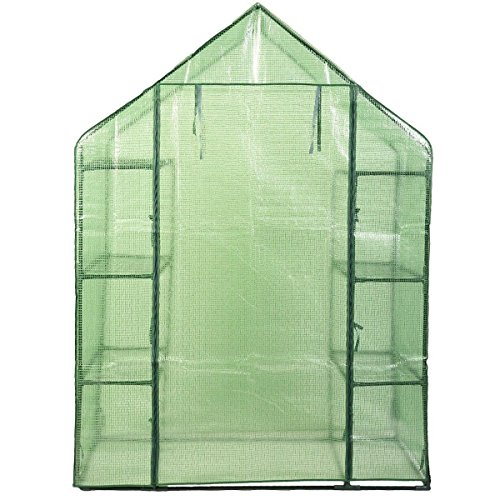 MD-Group-Portable-Greenhouse-8-Shelves-Garden-Nursery-Plants-Growth-House-Mini-Outdoor-PE-Mesh-0