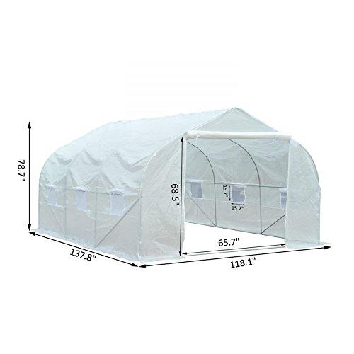 MRT-SUPPLY-11-x-10-x-7-Portable-Walk-In-Garden-Greenhouse-White-with-Ebook-0-1