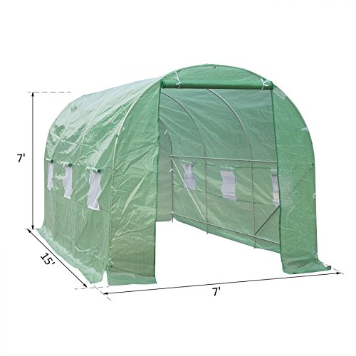 MRT-SUPPLY-15-x-7-x-7-Outdoor-Portable-Walk-In-Greenhouse-wWindows-with-Ebook-0-0