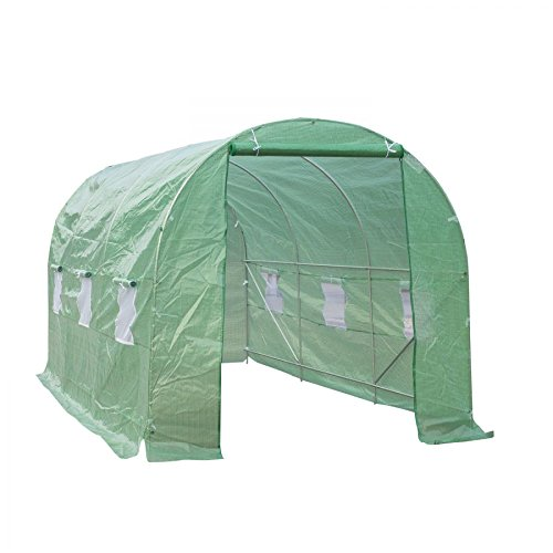 MRT-SUPPLY-15-x-7-x-7-Outdoor-Portable-Walk-In-Greenhouse-wWindows-with-Ebook-0