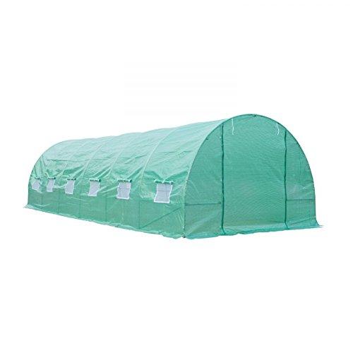 MRT-SUPPLY-26-x-10-x-7-Walk-In-Garden-Portable-Greenhouse-Deep-Green-with-Ebook-0-0