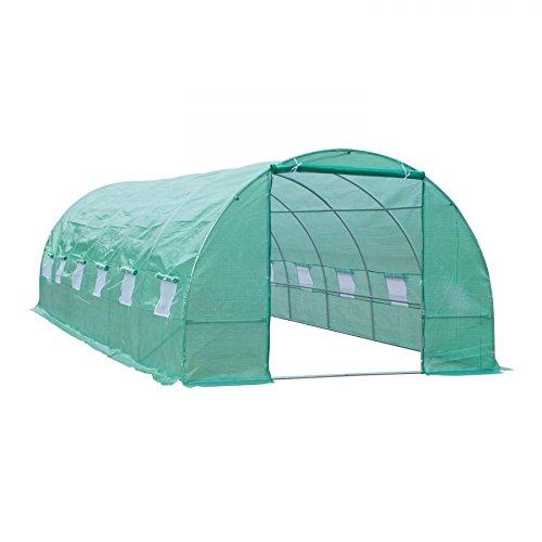 MRT-SUPPLY-26-x-10-x-7-Walk-In-Garden-Portable-Greenhouse-Deep-Green-with-Ebook-0