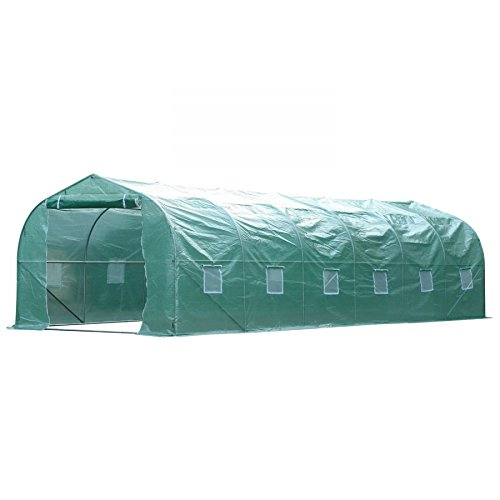 MRT-SUPPLY-2625-Outdoor-Walk-In-Greenhouse-Extra-Large-Plant-Gardening-PE-Cover-Green-with-Ebook-0