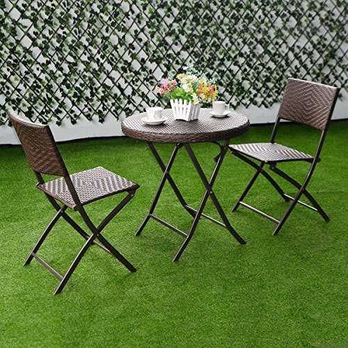 MRT-SUPPLY-3PC-Folding-Round-Table-Chair-Bistro-Set-Rattan-Wicker-Outdoor-Furniture-with-Ebook-0-0