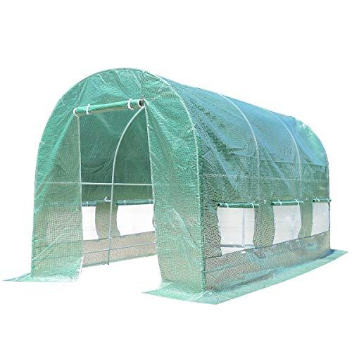 MRT-SUPPLY-6-Windows-Steel-Frame-Backyard-Walk-in-Greenhouse-Ebook-0