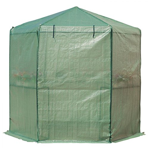 MRT-SUPPLY-65-x-7-2-Tier-Outdoor-Portable-Walk-In-Hexagonal-Greenhouse-Kit-Backyard-Hot-Plant-House-with-Ebook-0-1