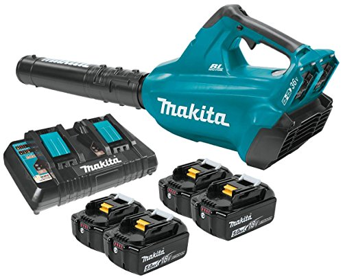 Makita-XBU02PT1-Cordless-Blower-Kit-with-4-Batteries-0