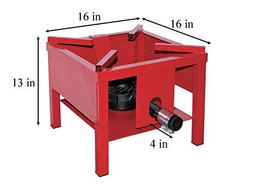 Martin-Portable-Outdoor-Propane-Burner-Cooker-Stand-Regulator-4-Hose-65000-BTUHour-0-0