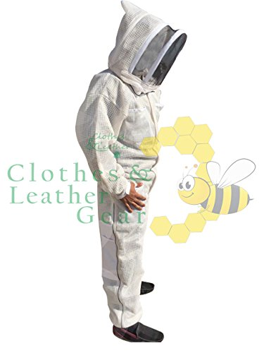 Massivebee-Beekeeping-Leg-Ziper-Ultra-Ventilated-Suit-with-domo-fencing-veil-bee-suit-0-0