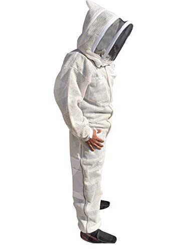 Massivebee-Beekeeping-Leg-Ziper-Ultra-Ventilated-Suit-with-domo-fencing-veil-bee-suit-0
