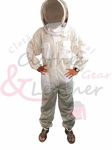 Massivebee-Beekeeping-Ultra-Ventilated-Suit-with-domo-fencing-veil-bee-suit-0