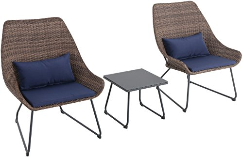 Md-Furniture-MONTK3PC-GRY-Montauk-3-Piece-Wicker-0-0