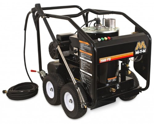 Mi-T-M-HSE-1002-0MM11-HSE-Series-Hot-Water-Electric-Direct-Drive-15-HP-Motor-120V-15A-1000-PSI-Pressure-Washer-0