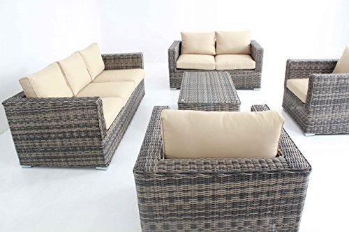 Mixed-Color-Outdoor-Patio-Sofa-Sectional-Wicker-Furniture-5pc-Couch-Set-Sunbrella-0-1