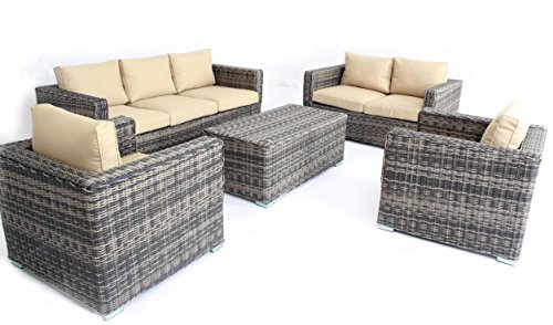 Mixed-Color-Outdoor-Patio-Sofa-Sectional-Wicker-Furniture-5pc-Couch-Set-Sunbrella-0-2