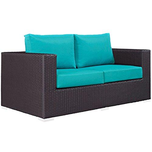 Modern-Contemporary-Urban-Design-Outdoor-Patio-Balcony-Loveseat-Sofa-Blue-Rattan-0