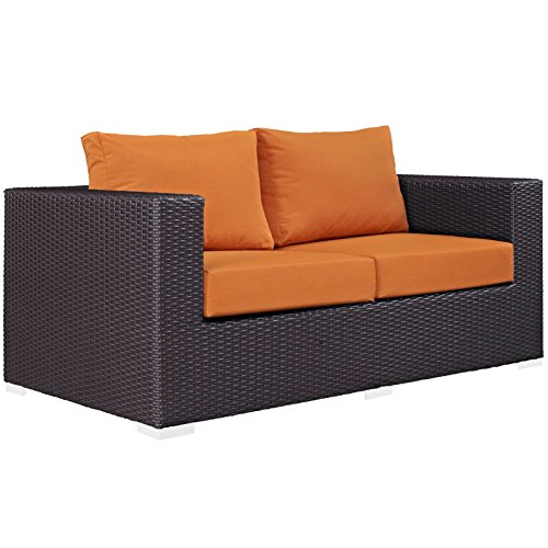 Modern-Contemporary-Urban-Design-Outdoor-Patio-Balcony-Loveseat-Sofa-Orange-Rattan-0-3