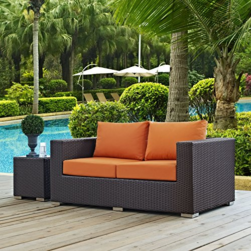 Modern-Contemporary-Urban-Design-Outdoor-Patio-Balcony-Loveseat-Sofa-Orange-Rattan-0-4