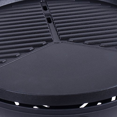 MyEasyShopping-1350W-Camping-Outdoor-Portable-Kitchen-Barbecue-Electric-Grill-with-Removable-Stand-0