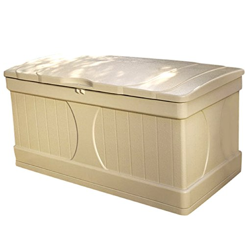 NAKSHOP-Outdoor-Storage-Containers-For-Deck-With-Lids-Multifunctional-Patio-Storage-Trunk-Modern-Box-Taupe-Shed-Garden-Outside-Yard-Chest-Resin-Poolside-Cushion-Storing-Bistro-Backyard-And-eBook-By-0-0