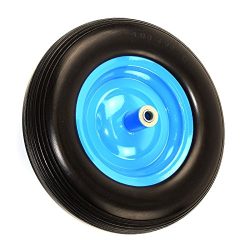 NK-WFF16BK-Flat-Free-Wheelbarrow-Tire-with-Ribbed-Tread-6-Inch-Centered-Hub-58-Inch-Bearings-155-Inch-Tire-Diameter-480400-8-0-1