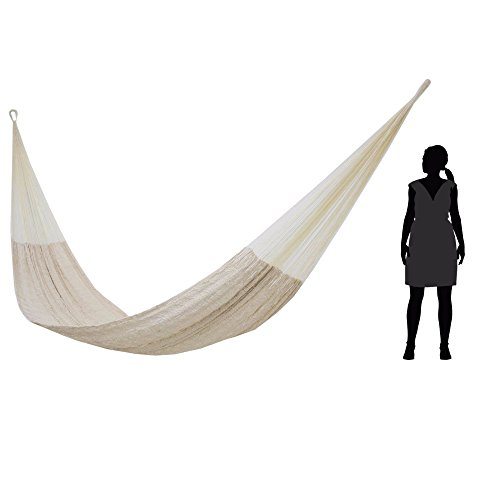 NOVICA-Natural-Off-White-Hand-Woven-Cotton-Blend-Mayan-1-Person-Rope-Hammock-Natural-Comfort-single-0-1