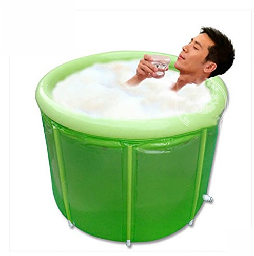 NUOAO-Ultralarge-Thickening-Bath-BucketBathtub-Adult-Folding-Inflatable-Bathtub-Double-With-Pump100cm80cm-0
