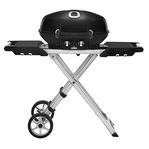 Napoleon-TravelQ-PRO-Series-285-Portable-Gas-Grill-with-Scissor-Cart-0