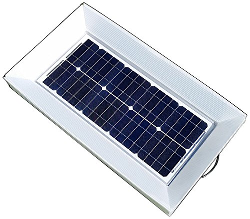 Natural-Current-NC25W5PDYIKIT-Home-and-Garden-Boat-RV-Solar-Panels-with-DYI-Solar-Water-Floating-or-Ground-Hillside-Casing-Installation-Setup-Kit-25W-5-Pack-0