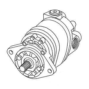 New-Hydraulic-Pump-70257213-Fits-AC-190-190XT190XTIII-0-0