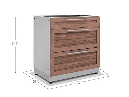 NewAge-65602-NewPage-Products-32-3-Drawer-in-Stainless-Steel-Grove-Outdoor-Kitchen-Cabinet-0-0-1