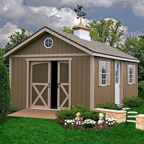 North-Dakota-12-ft-x-16-ft-Wood-Storage-Shed-Kit-with-Floor-Including-4-x-4-Runners-0-0
