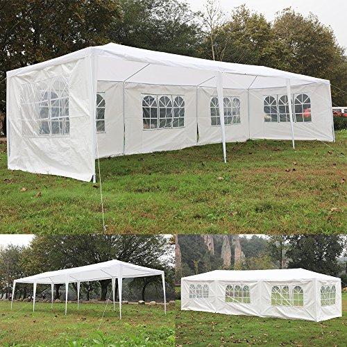 Okapa-Canopy-Tent-10x-30ft-Outdoor-Wedding-Party-Gazebos-Waterproof-5-Removable-Sidewalls-0