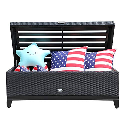 Orange-Casual-Outdoor-3-in-1-Resin-Wicker-Storage-Bench-Box-Seat-Cushion-Aluminum-Frame-0-2