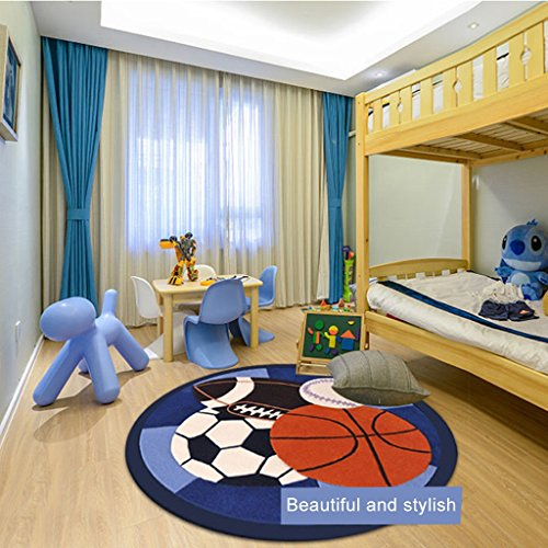 Ottomans-Tatami-rugs-Childrens-room-carpet-Boy-round-game-pad-Cartoon-football-basketball-crawling-mat-Bedroom-room-mat-round-carpet-Computer-chair-cushion-0-1
