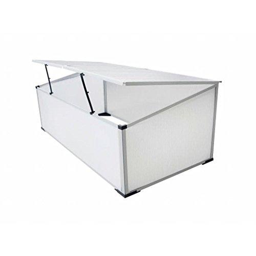Outdoor-Cold-Frame-Mini-Greenhouse-Aluminum-Frame-Garden-Seed-Starter-24-Lids-0-0