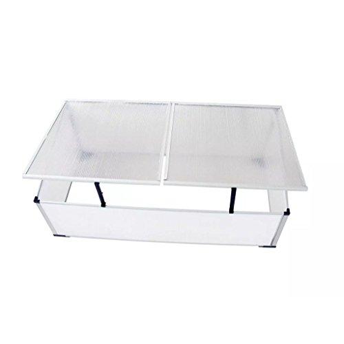 Outdoor-Cold-Frame-Mini-Greenhouse-Aluminum-Frame-Garden-Seed-Starter-24-Lids-0-2