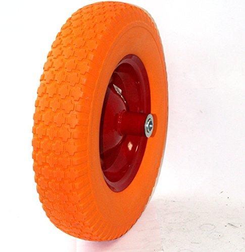 Outdoor-Garden-Utility-Cart-Wheel-Barrow-Wheelbarrow-16-Flat-Free-Tire-Solid-Foam-58-Axle-For-Wagon-Durable-Construction-Skroutz-0-1