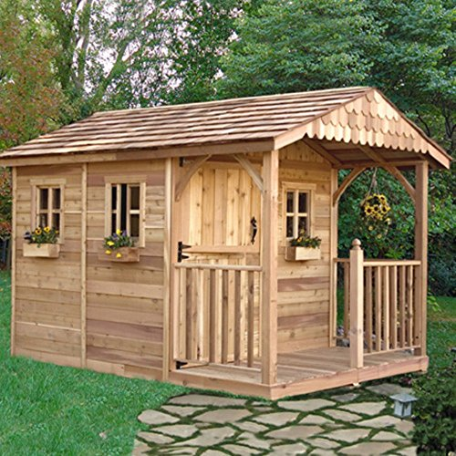 Outdoor-Living-Today-SR812-Santa-Rosa-8-x-12-ft-Garden-Shed-0