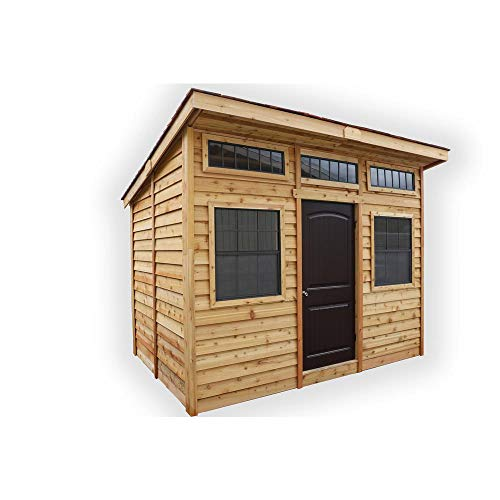 Outdoor-Living-Today-Studio-12×8-Cedar-Garden-Shed-ON-SALE-NOW-0