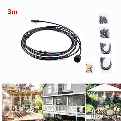 Outdoor-Misting-Cooling-System-Fan-Cooler-Patio-Garden-Water-Mister-Mist-Nozzles-3M-0